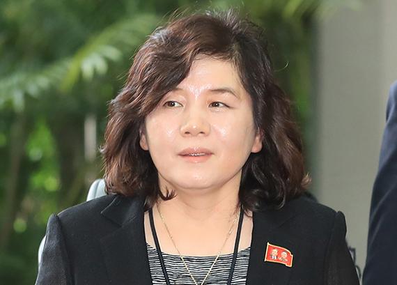최선희 북한 외무성 제1부상. 연합뉴스
