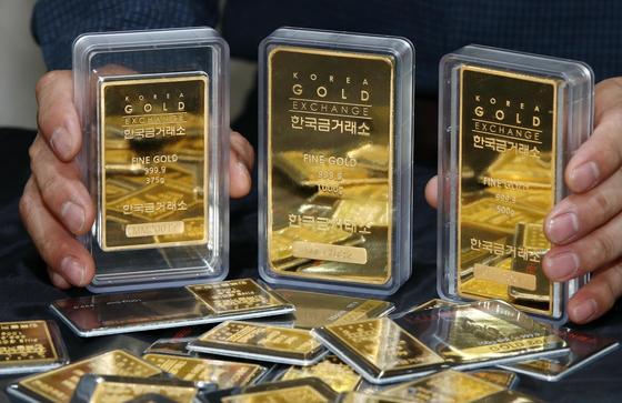 상반기 금 거래 2배 급증…금값은 22% 올랐다
