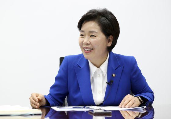 양향자 더불어민주당 의원이 2일 오전 국회 의원회관 사무실에서 중앙일보와 인터뷰를 하고 있다. 임현동 기자
