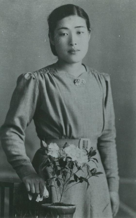 젊은 시절의 황혜성 선생.