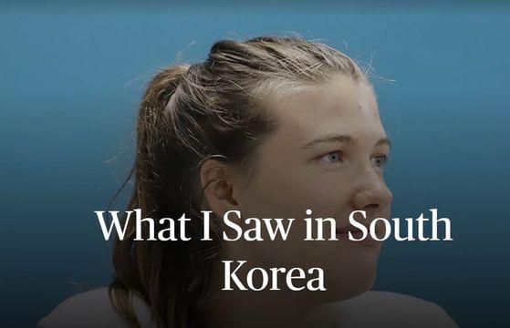 여자 프로배구 GS칼텍스 외국인 선수 러츠가 한국의 코로나19 대처 방식에 대해 미국과 비교해 글을 썼다. [더플레이어스 트리뷴 캡처]