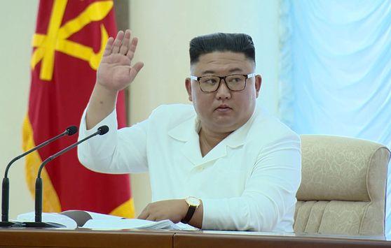 김정은 북한 국무위원장. 조선중앙TV 캡처