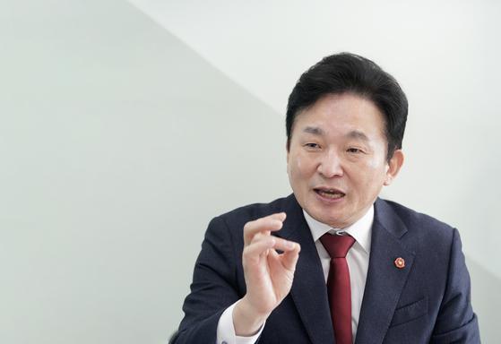 원희룡 제주도지사. 연합뉴스