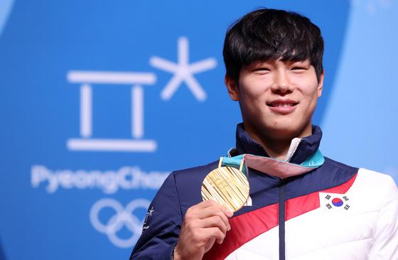 2018 평창동계올림픽 스켈레톤 금메달리스트 윤성빈. [연합뉴스]