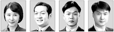 김선아, 손광해, 김동일, 이원휴(왼쪽부터)