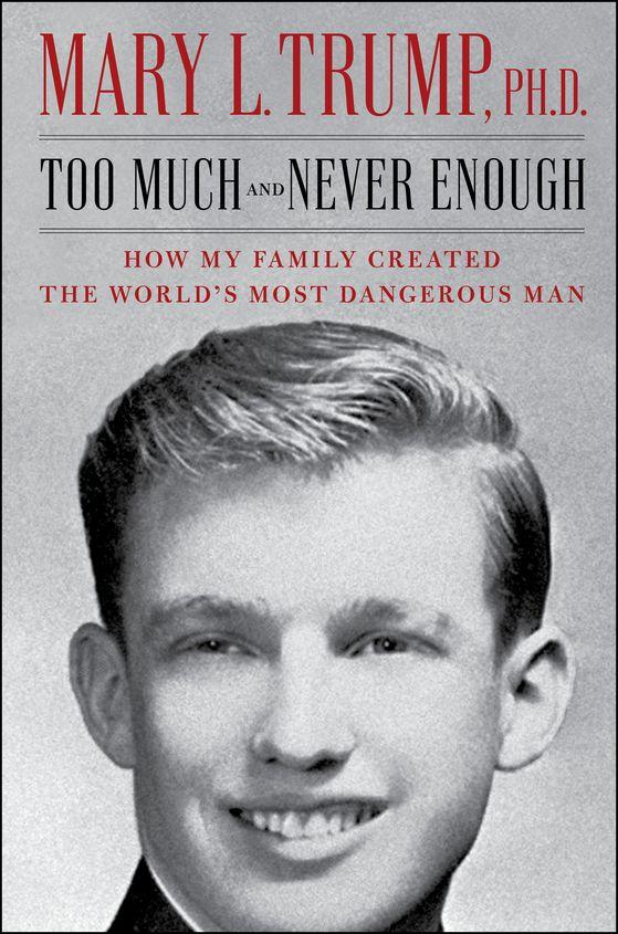 트럼프 대통령의 조카 메리 트럼프가 출간하는 책의 표지. AP=연합뉴스