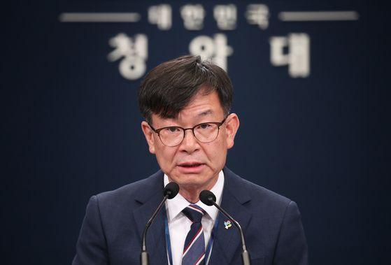 김상조 청와대 정책실장 연합뉴스