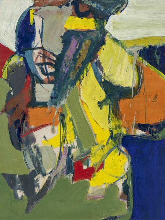 최욱경, Untitled, 960년대, Acrylic, oil, and oil pastel on paper, 62 x 47.5 cm.[국제갤러리]