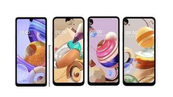 LG전자는 이달 파나마, 페루, 코스타리카 등 6개국에 출시하는 실속형 스마트폰 K시리즈. 사진 LG전자