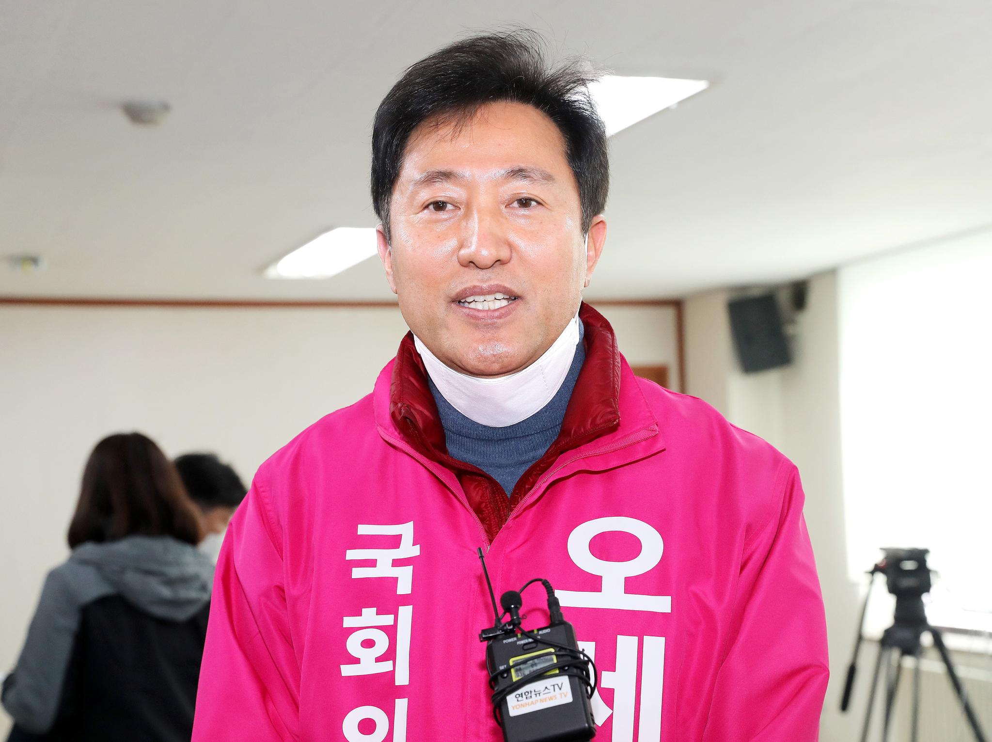 오세훈 전 서울시장. 연합뉴스