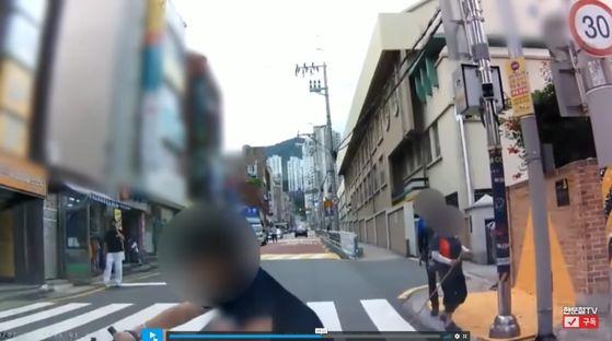 [유튜브 '한문철TV' 캡쳐]
