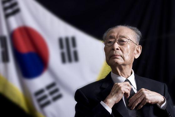 백선엽 예비역 장군의 생전 모습.. 권혁재 사진전문기자