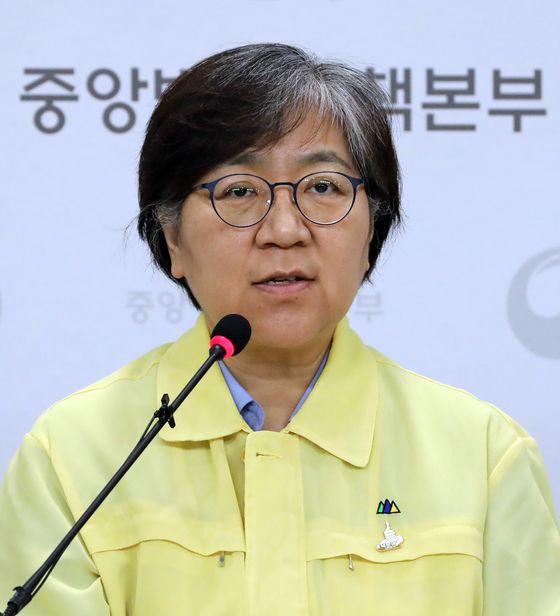 정은경 중앙방역대책본부장(질병관리본부장). 뉴스1
