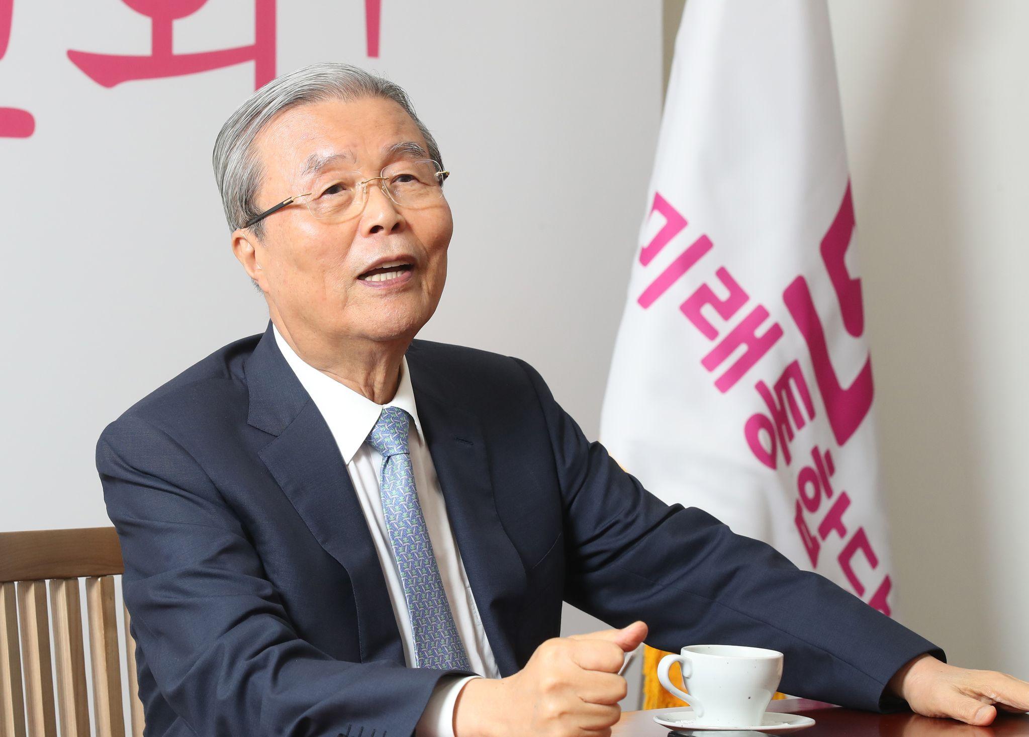 김종인 미래통합당 비대위원장. 중앙포토