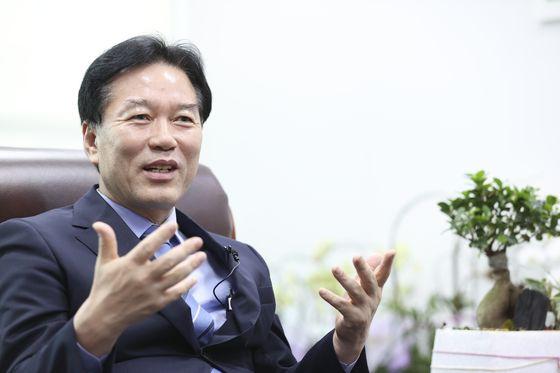 정태호 더불어민주당 의원 인터뷰가 8일 오후 국회 의원회관 사무실에서 열렸다. 임현동 기자
