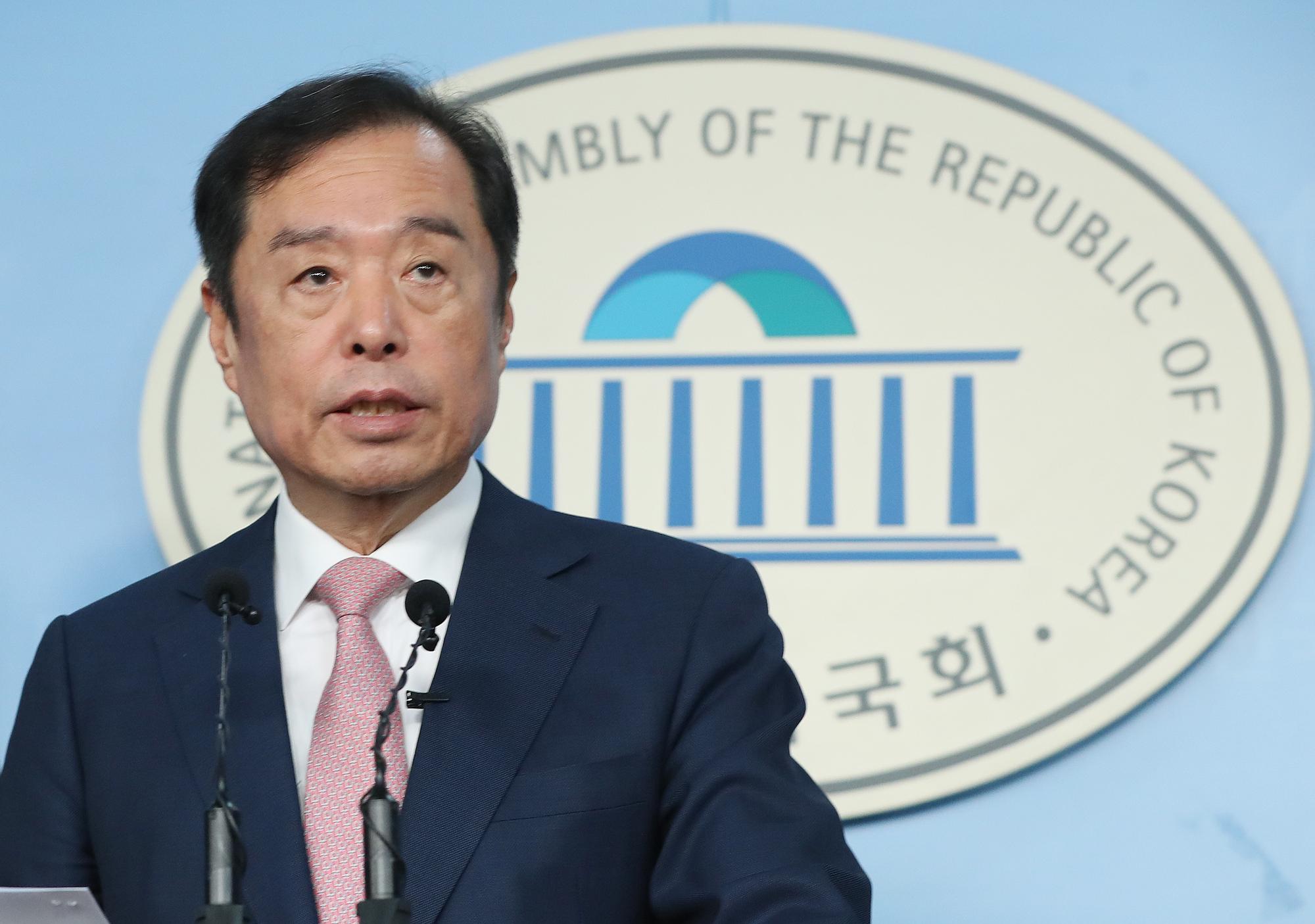 김병준 전 자유한국당 비상대책위원장. 연합뉴스
