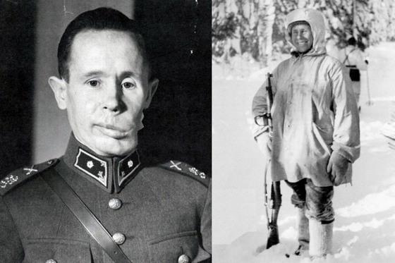 핀란드군의 전설적인 저격수 시모 해위해(1905~2002)는 겨울전쟁 중 542명(800명이라는 설도 있음)을 사살했다. 자신을 노린 소련군의 포격으로 얼굴에 파편을 맞았다.