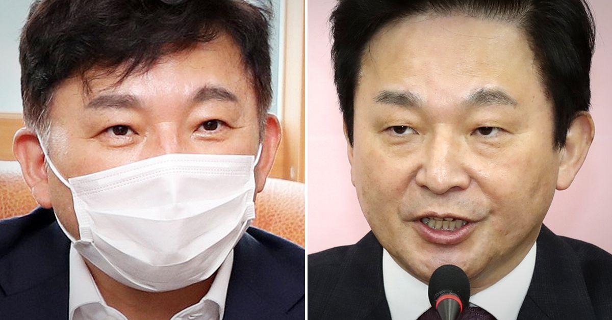 달라진 원희룡 제주도지사(왼쪽)과 이전 모습. 연합뉴스·제주도청