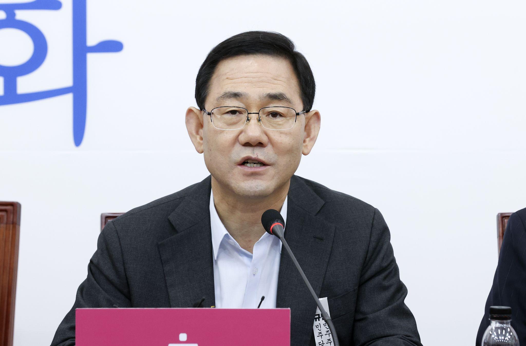 미래통합당 주호영 원내대표. 임현동 기자