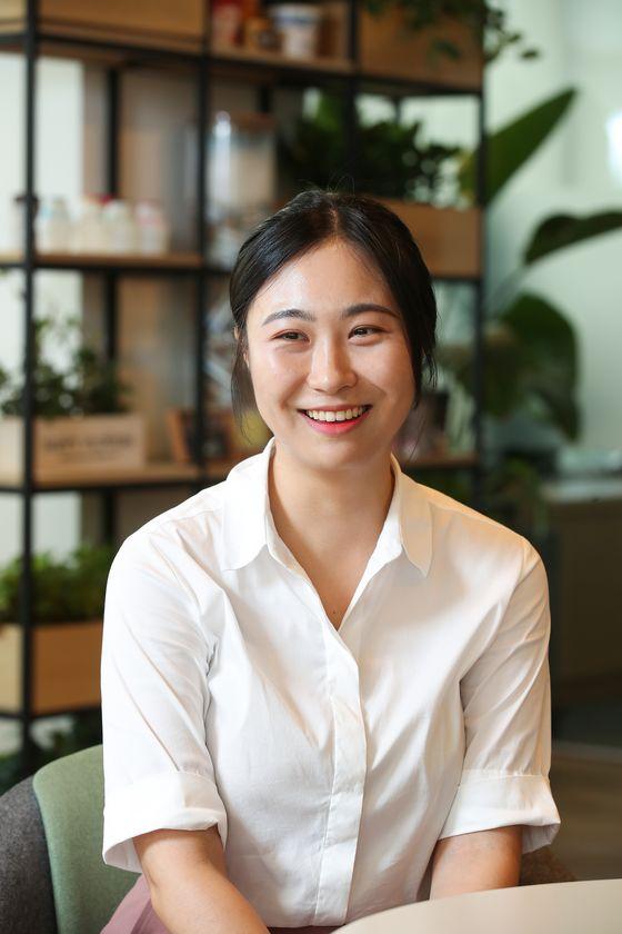 협업 마케팅을 담당하고 있는 김수영 사원. 우상조 기자