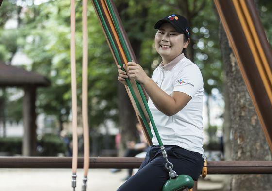 홍정민은 점프투어에서 4경기만에 3승을 거두고 드림투어로 진출한다. 김성룡 기자