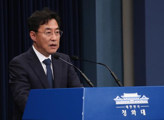 강민석 청와대 대변인 [연합뉴스]