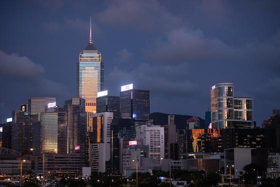 홍콩 시내. EPA=연합뉴스
