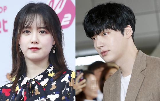 배우 구혜선(왼쪽)·안재현. 뉴스1