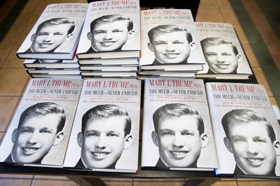 도널드 트럼프 미국 대통령의 조카가 쓴 책이 14일(현지시간) 미국에서 출간됐다. [연합뉴스]