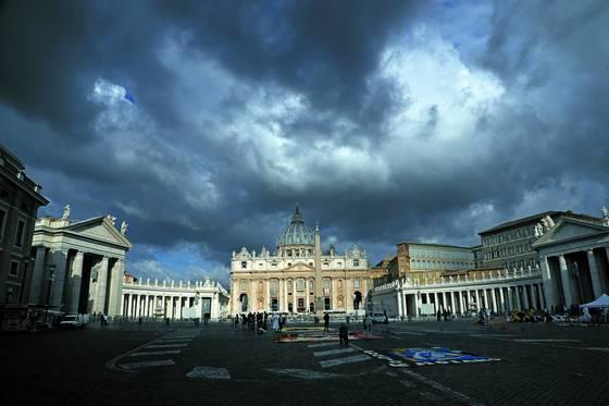 바티칸시티 교황청.[중앙포토]
