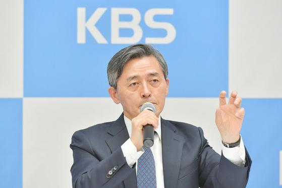 양승동 KBS 사장 [사진 KBS]