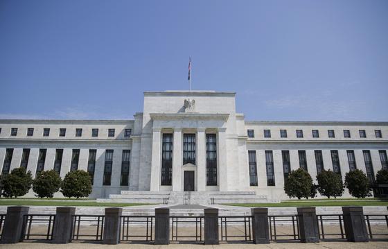 미 연방준비제도(Fed) 빌딩. 중앙포토