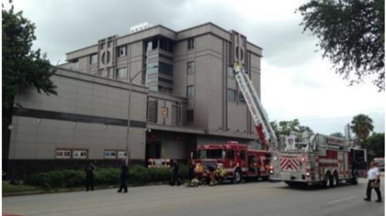 미국은 21일(현지시간) 휴스턴주재 중국 총영사관을 폐쇄하라고 통보했다. 사진은 휴스턴 주재 중국 총영사관. [중국 환구망 캡처]