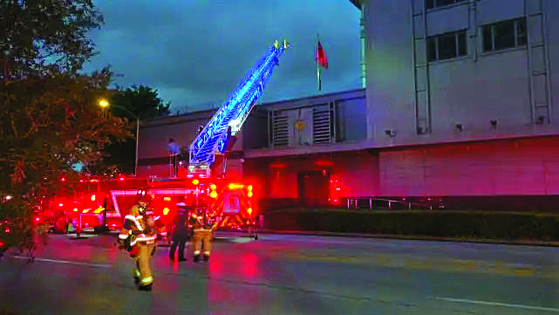 지난 21일 오후 8시 20분경 휴스턴 총영사관에서 화재가 발생했다. 휴스턴 경찰은 영사관 직원들이 퇴거 이전 기밀 문서를 소각하다가 불이 난 것으로 보고 있다.