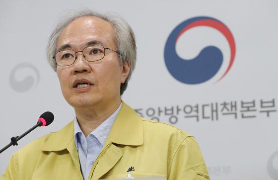 권준욱 중앙방역대책부본부장. [연합뉴스]