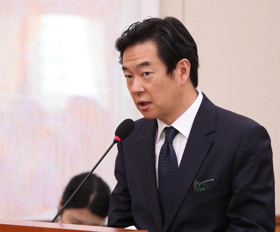 박석원 철인3종협회 회장. [뉴스1]