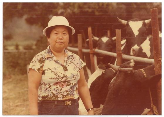 과거 이수영 회장이 농장에서 찍은 사진 [사진 KAIST 발전재단]