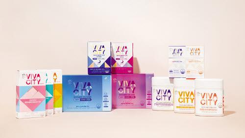 여성 건강 전문 브랜드 '비바시티'가 스틱젤리 3종과 구미젤리 3종에 이어 다이어트와 스트레스 관리를 위한 '슬림케어 나이트'를 출시했다. [사진 빙그레]