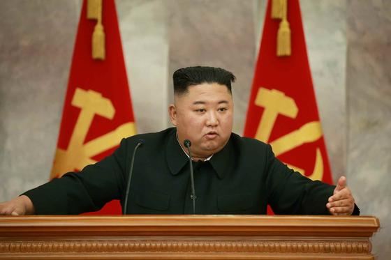 김정은 북한 국무위원장. 사진 노동신문