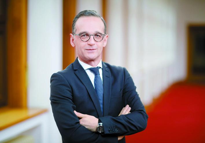하이코 마스 독일 외무장관. 사진 독일 대사관