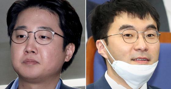 이준석 전 미래통합당 최고위원(왼쪽)과 김남국 더불어민주당 의원. 뉴스1
