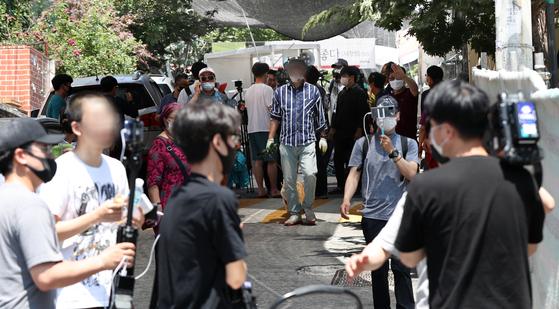 지난 6월 22일 전광훈 목사가 담임목사로 있는 서울 성북구 사랑제일교회에 대한 2차 명도집행이 또 다시 중단됐다.  뉴스1