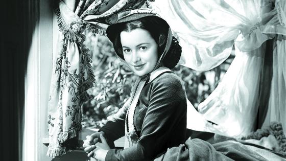 '바람과 함께 사라지다'에서 멜라니를 연기한 올리비아 드 하빌랜드. 이 영화로 아카데미 조연상 후보에 올랐지만, 상은 유모역의 해티 맥대니얼에게 돌아갔다. [로이터=연합뉴스]