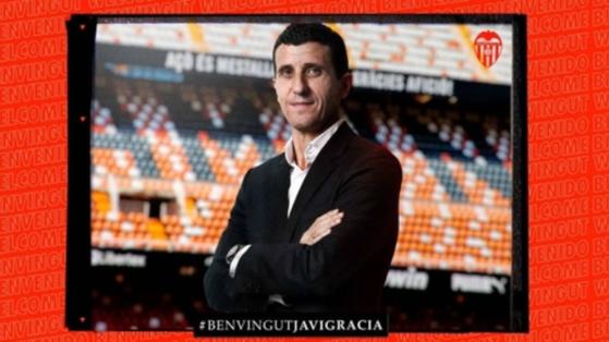 스페인 프로축구 발렌시아 새 사령탑에 오른 하비 가르시아 감독 [발렌시아 홈페이지 캡처]