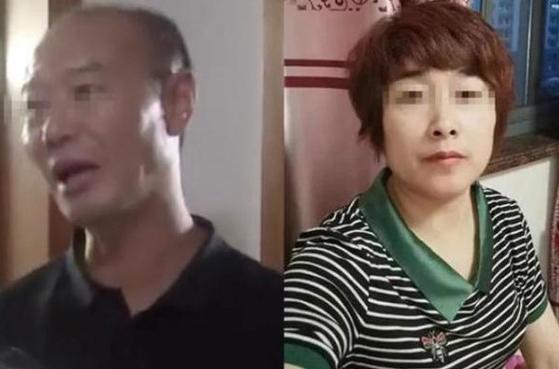 피의자 쉬(許) 모 씨(왼쪽)와 피해자 라이(來) 모 씨(오른쪽) [사진=진르터우탸오]