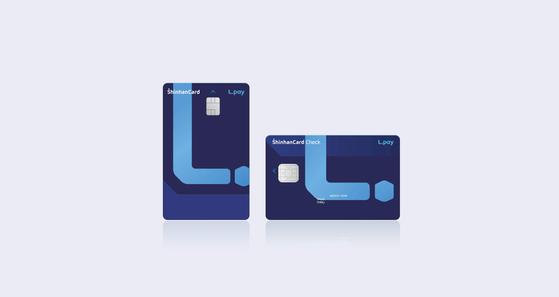 'L.Pay 신한카드'는 발급과 동시에 엘포인트 회원 가입 및 엘페이 자동 등록이 되는 등 고객 편의성을 높인 것이 특징이다. [사진 신한카드]
