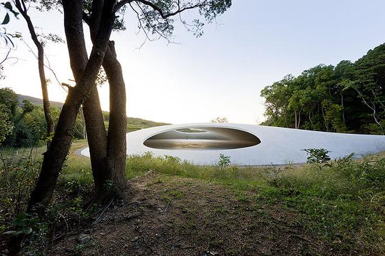 21세기 건축은 자연에 내재된 치유 기능을 주목한다. 2010년 개관한 일본 데시마 미술관의 외부. [사진 각 건축 사무소]