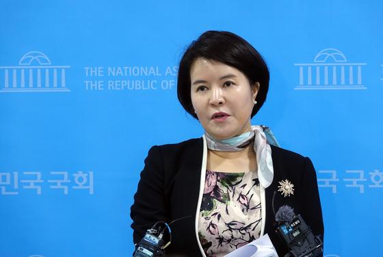 더불어민주당 허윤정 대변인. [연합뉴스]