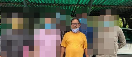50명 이상의 택시기사를 살해한 혐의를 받고 있는 디벤더 사르마(62). 연합뉴스