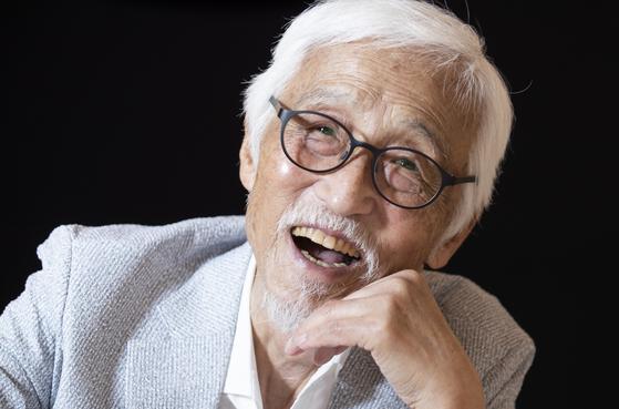 연극 데뷔 65년이 된 올해 '레미제라블'에 출연하는 배우 오현경. 권혁재 사진전문기자